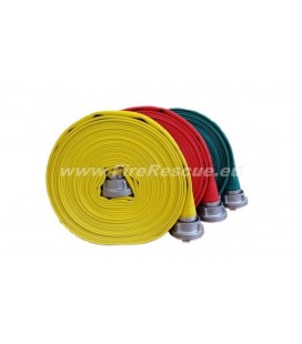 EUROFLEX TXS FIREFIGHTING PRESSURE HOSE 25-D WITH STORZ COUPLINGS