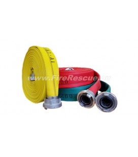 EUROFLEX TXS IRK FIREFIGHTING PRESSURE HOSE 25-D WITHOUT COUPLINGS