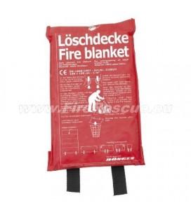 FIRE BLANKET  1.000 x 1.000 MM IN A BAG