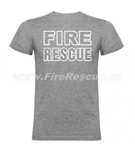 FIRERESCUE T-SHIRT - GRAU