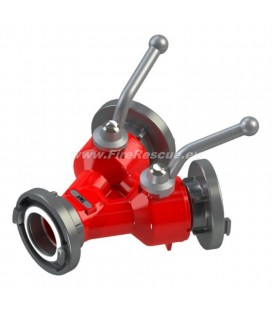 DOUBLE WATER DISTRIBUTER B/CC WITH BALL VALVES