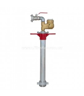 STANDPIPE FOR UNDERGROUND HYDRANT WITH WATER METER AND VALVE - DN80