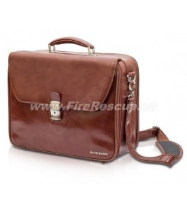 ELITE DELUXE BAG DOCTOR'S - BROWN